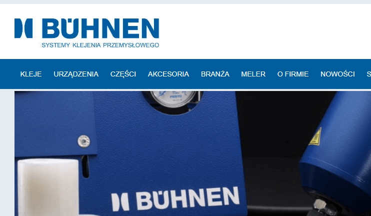 buehnen - systemy klejenia przemysłowego